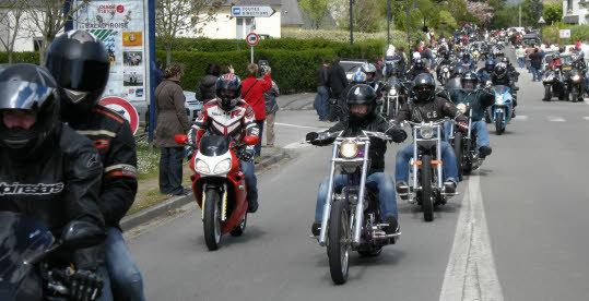 GK36. Près d'un millier de motards contre la leucémie