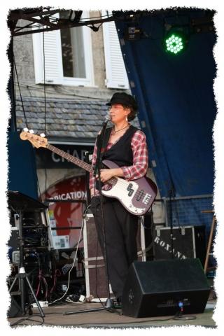 Fête aux moules - Groupe RoXanne - Lannilis - Musiciens - Rock Blues